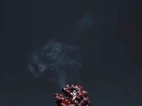 小叶紫檀,貔貅香炉