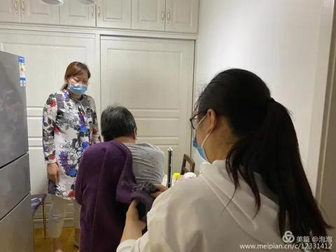 陕健医二一五医院老年病科走进咸阳市第二军干所开展家访活动