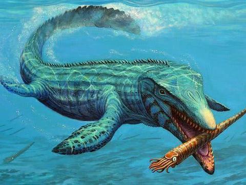 沧龙是远古海洋霸主,但科学家还原一种海洋生物,甚至以沧龙为食