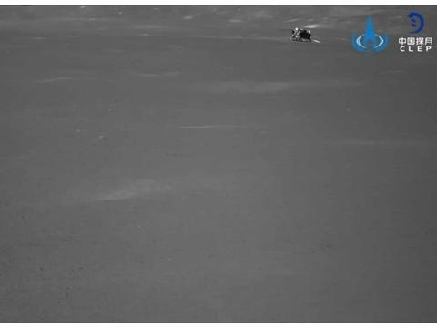 """嫦娥四号着陆器和""""玉兔二号""""月球车进入第十八月夜"""