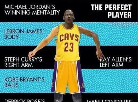 17位巨星合为一体!NBA最完美的超级战士有多可怕?