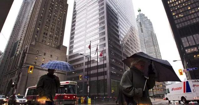 加拿大六大银行第一季度坏账总额约110亿加元