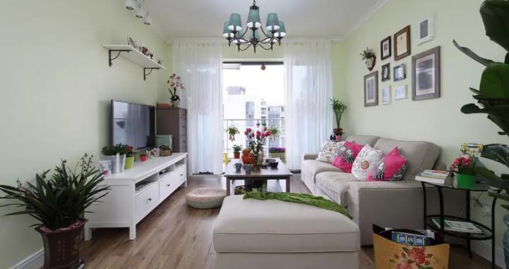 我的装修我做主,96平米的三居室,超级fashion的田园风格,怎么这么好看!-花样年江山装修