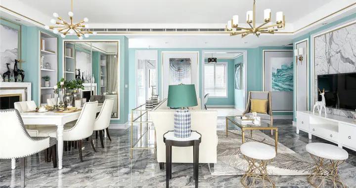 174平米四居室设计说明,18万元装修的现代风格有什么效果?-融创中永中原大观星光IN装修