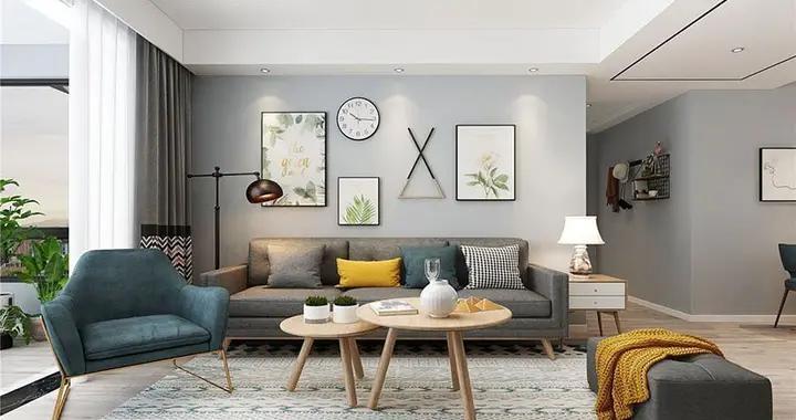 意想不到的神奇效果,72平米的二居室,北欧风格只花了10万,太值了!-万科金域华府装修
