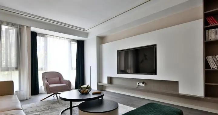 130平米三居室的简约风格案例,全包只花13万!-雅居乐湖居笔记装修