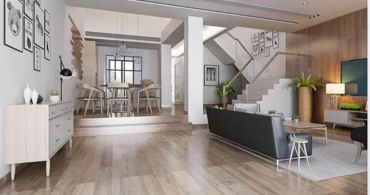 215平米的房子包括哪些功能间?装修成日式风格三居室好不好?-景山玫瑰园别墅装修