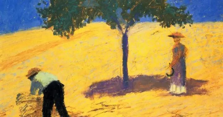 德国表现主义画家奥古斯特·马克油画作品欣赏