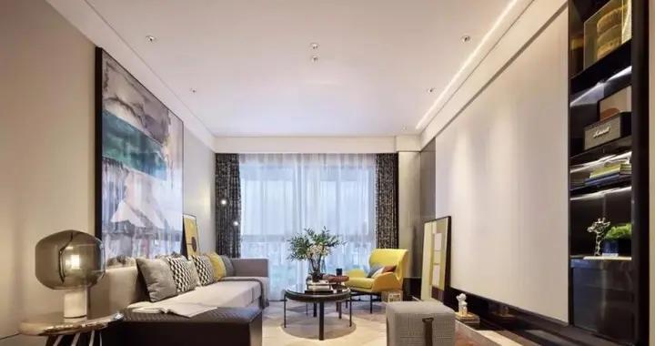 90平米房子现代风装修,这样的三居室简直是绝美,良心老师傅亲自打造-香悦城装修