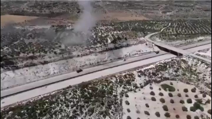 叙利亚一建筑物突然发生大爆炸,有消息称事发时有土耳其军人在场