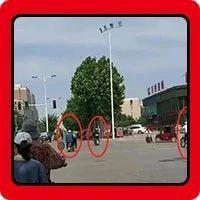 太任性!濮阳这三人不管不顾闯红灯被拍,出了事谁负责?
