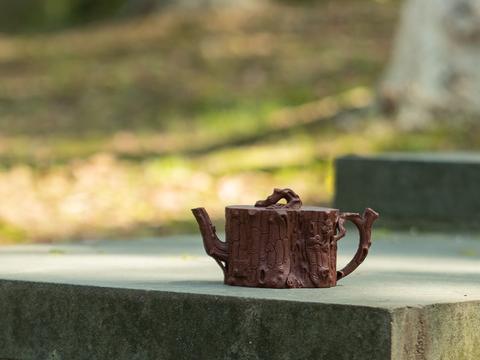 国家级助理工艺美术师桑和锦·松桩壶|疾风知劲草,青松映明月