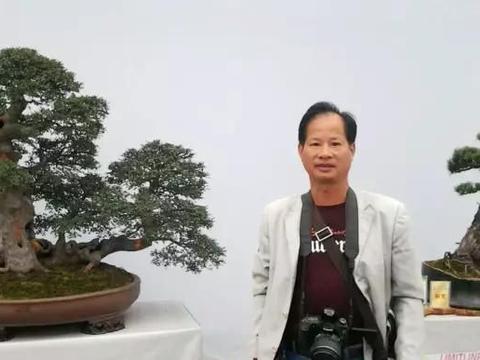中国杰出盆景艺术家、中国盆景高级技师陈再米老师盆景佳作欣赏