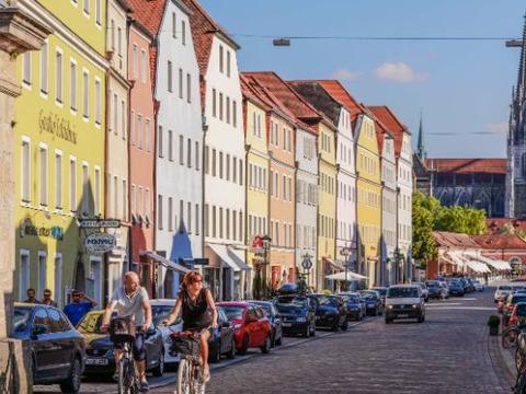 德国最美的古城,城市风貌古色古香,全民乐享生活令人羡慕