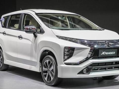 三菱在东南亚投放的廉价MPV,仅8万起步,颜值高又实用