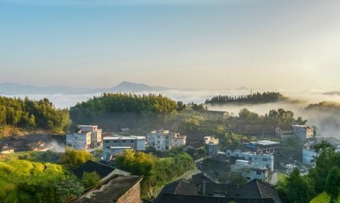 福建柘荣县有个官安村,原汁原味,是有名的传统古村落