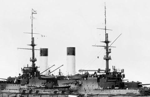 图说:日俄战争对马海战115周年 沙俄海军战沉 投降的部分军舰