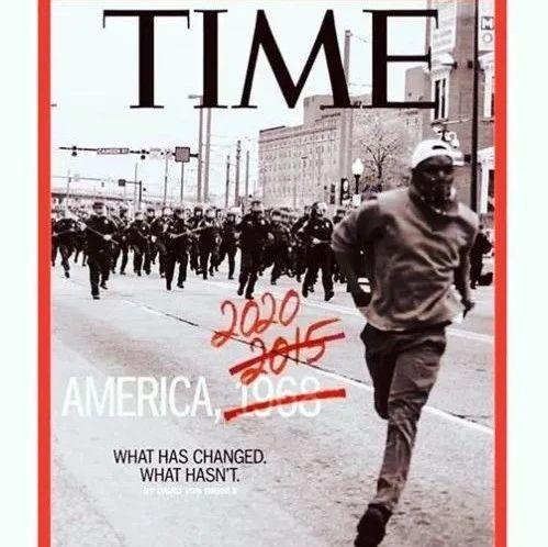 《时代周刊》2015的封面又可以继续用了…