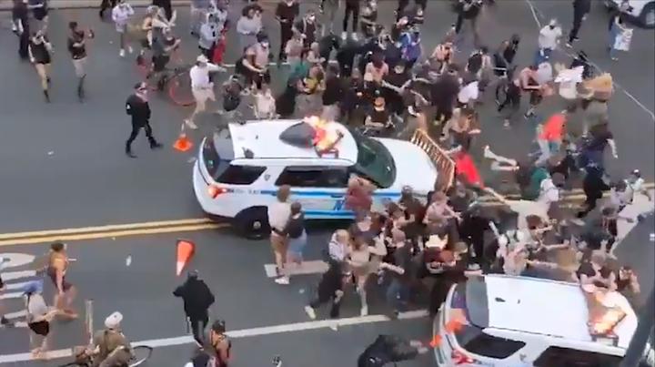 """美式人权何在?110秒看""""黑人之死""""抗议中美国警察的暴力执法现场"""