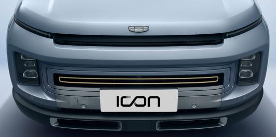 静态体验吉利ICON,这是一台披着电动车外壳的燃油车