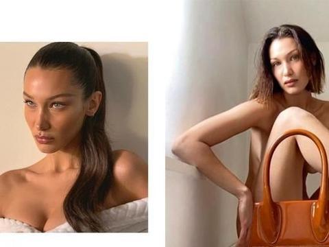 Bella Hadid换上刘海Lob发型,变成90年代复古女郎!