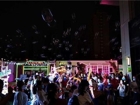 河西区又添夜间新去处 5月30日中冶·和悦汇夜市火爆开街