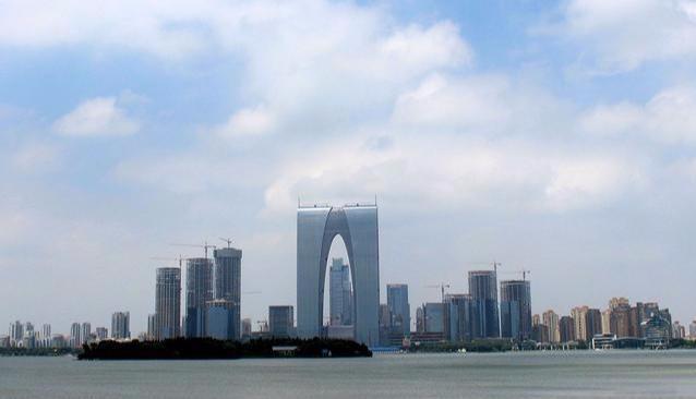 """苏州""""最接地气的""""建筑,因为外形太酷,一眼就被记住了"""