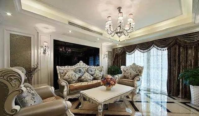 149㎡花了55万,晒晒土豪朋友的新房,看看这才是真正的奢华装修