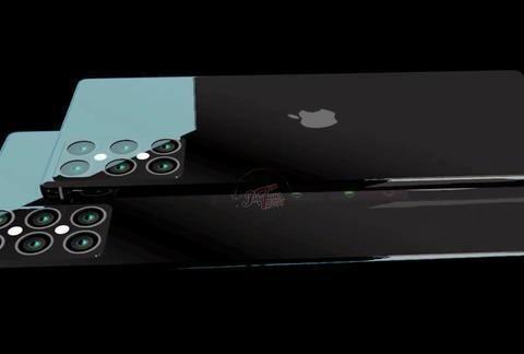 iPhone12概念图:后置六颗摄像头,刘海砍掉前摄屏下隐藏