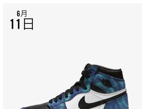 还有配套服饰!扎染 Air Jordan 1 下周发售!
