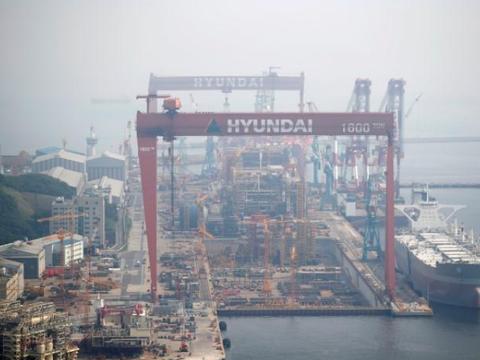 危在旦夕的韩国造船厂赢得190亿美元大单,买家为卡塔尔石油公司