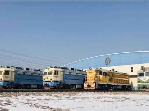 中国铁道博物馆东郊馆,怀旧摄影的好去处