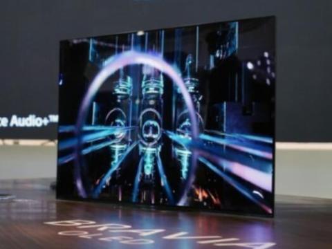 今年Q1我国OLED电视销量2.4万台 占彩电市场份额0.2%