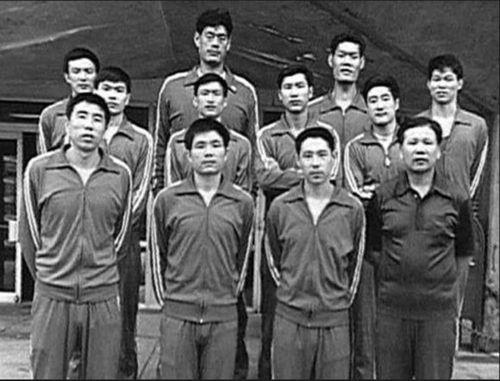 """中国男篮六七十年代""""双塔""""之一,穆铁柱搭档,马占福你了解多少"""