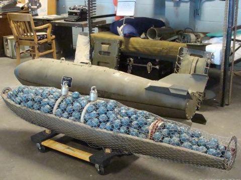 集束炸弹威力巨大,海湾战争中伊军吃尽苦头!