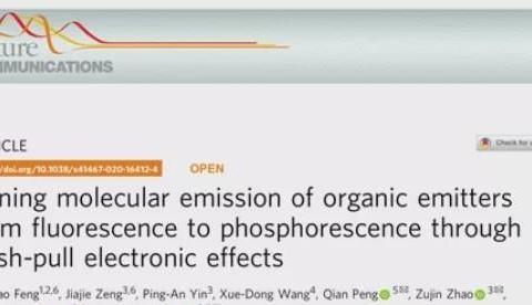 宝鸡文理学院冯海涛博士在Nature子刊和JACS等国际期刊发表论文
