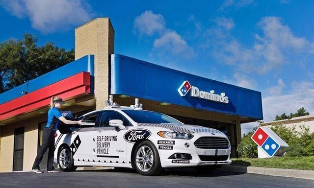 外卖小哥怎么办?福特在迈阿密测试食物外卖自动驾驶汽车