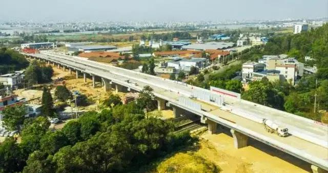西昌绕城公路(北环线)确保9月底实现全面通车