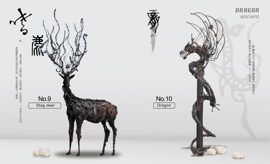 左锋义:装置艺术的魅力在于让废弃金属倾诉