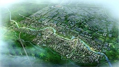 甘眉园区:千亿新能源新材料产业园正崛起