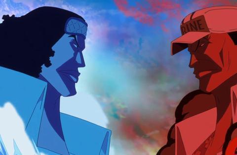 海贼王:青雉与赤犬的果实能力存在克制关系,前者虽败犹荣