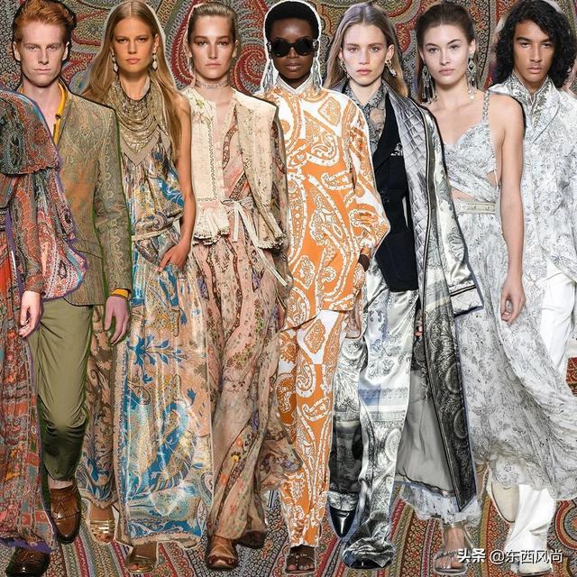 佩里斯花纹,传统与当代的碰撞与融合,光芒绽放于衣褶之上