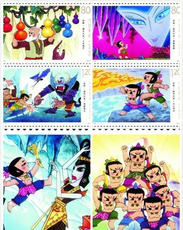 《葫芦兄弟》不跌反涨,童年记忆撑起了邮市一片天?