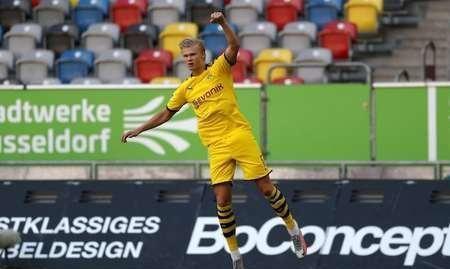 哈兰德绝杀格雷罗进球被吹,多特客场1-0杜塞尔多夫