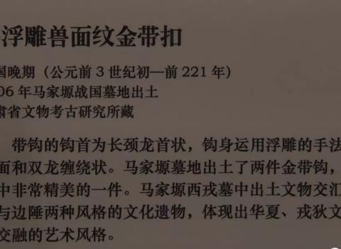 金钩矅银饰:六行-孙振华分享国博丝路孔道特展青铜文明之二