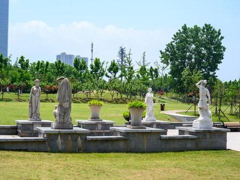 南京小众景点,毗邻绿博园的滨江公园,周末休闲散步的好去处