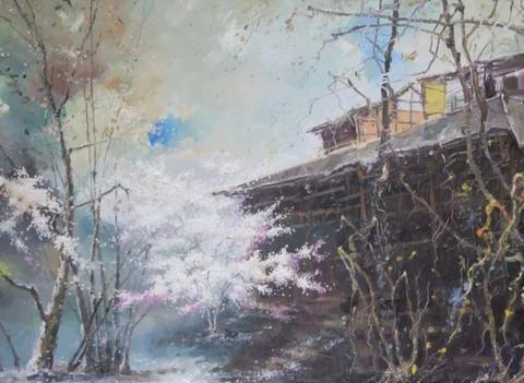 油画家陈春明:临摹与创作同样重要,相辅相成!