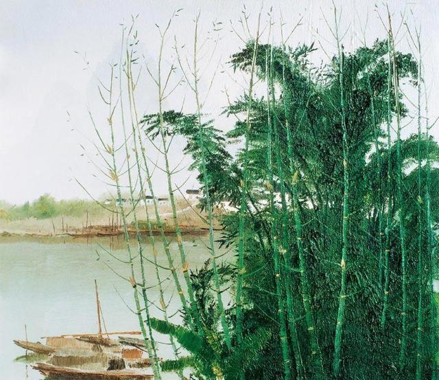 """""""中国画""""没人比吴冠中画得更好,中国画在他笔下活了起来!"""