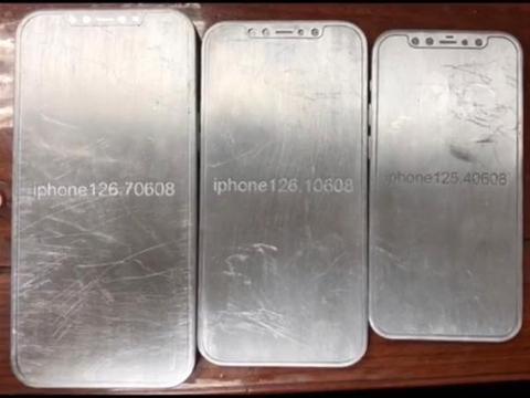iphone12系列机模+保护壳齐曝光 回归直边框继续大刘海和浴霸后摄