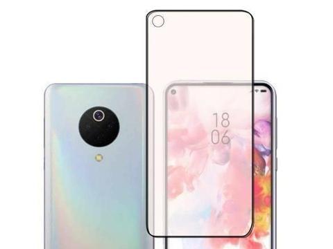 """小米cc10手机壳曝光小米cc10外形设计,采用""""奥利奥""""四摄方案"""